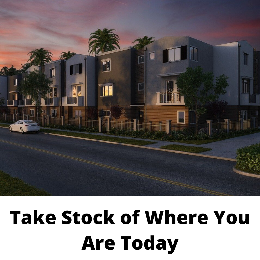 Take Stock of Where You Are Today