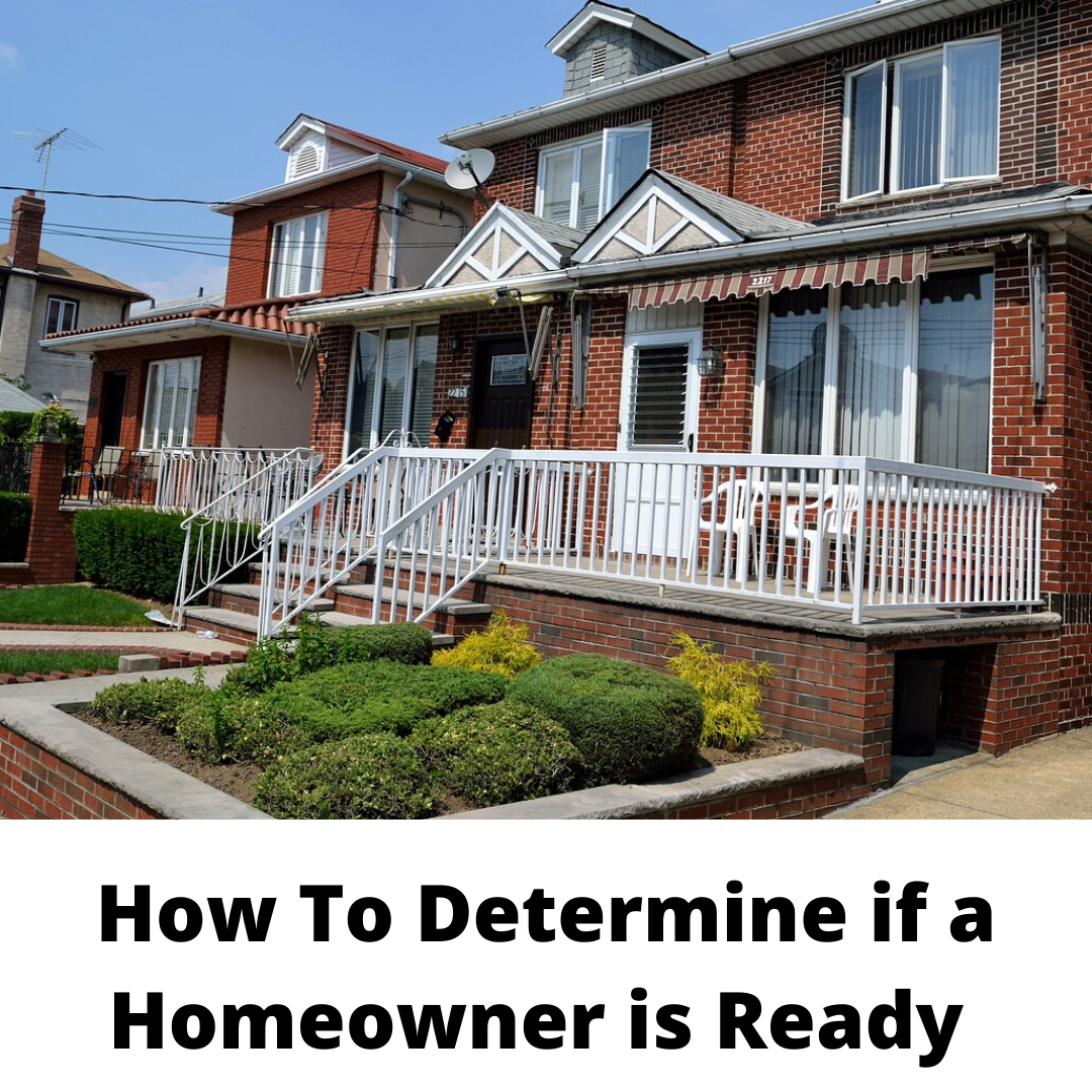 How to Determine if a Homeowner is Ready