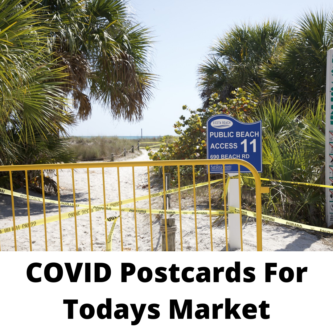 COVID postcards for Today's Market